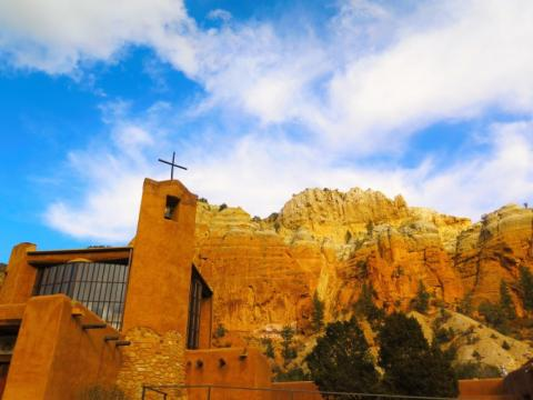 Monastery of Christ in the Desert in New Mexico. Photo by Timothy King