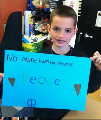 8-year-old Martin Richard, who was killed in the Boston bombing. Via Facebook