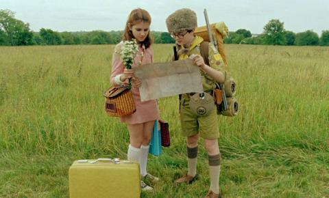 Suzy (Kara Hayward) and Sam (Jared Gilman) try to find their way in  Moonrise Kingdom  the new film from director Wes Anderson  sc 1 st  Sojourners & The Age of Innocence: Wes Andersonu0027s u0027Moonrise Kingdomu0027 | Sojourners