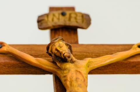 Jesus on the cross Photo: Lasalus/Shutterstock