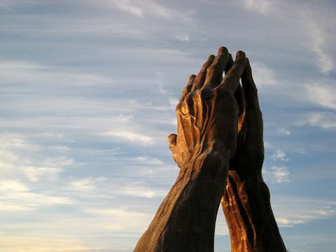 """Praying Hands."" Image via Wylio http://bit.ly/smNXdA"
