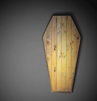 Wood coffin image, _Lonely_ / Shutterstock.com