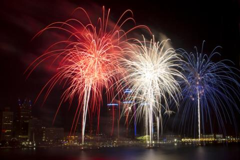 4th of July fireworks, artcphotos / Shutterstock.com
