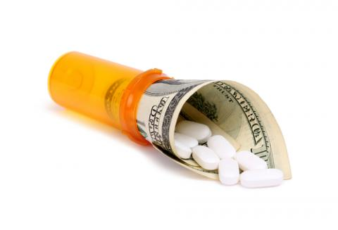 High cost of prescriptions illustration, bestv / Shutterstock.com