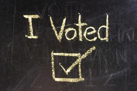 Voting illustration,  suwan reunintr / Shutterstock.com