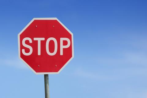 Stop sign, FocusDzign / Shutterstock.com