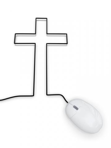Online church illustration, S.john / Shutterstock.com