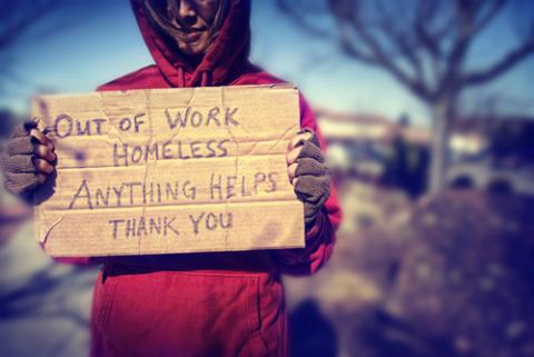 Homeless, Annette Shaff / Shutterstock.com