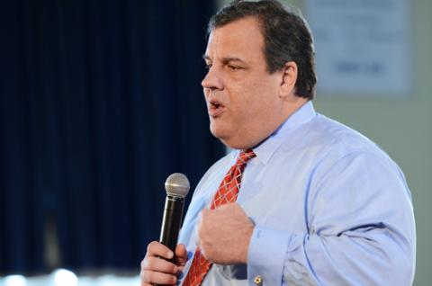 N.J. Gov. Chris Christie in March, L.E.MORMILE / Shutterstock.com
