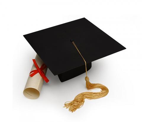 Diploma image, James Steidl, Shutterstock.com