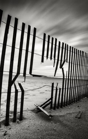 Broken fence. Image courtesy mervas/shutterstock.com