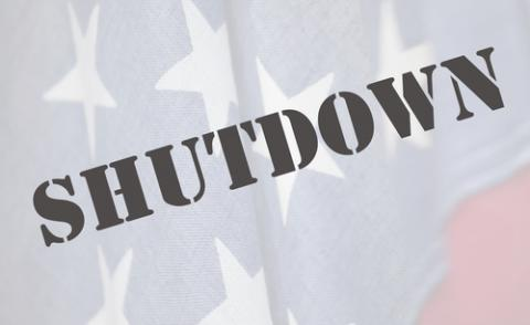 Government shutdown illustration, Alice Day / Shutterstock.com