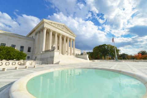 The United States Supreme Court. Image courtesy Orhan Cam/shutterstock.com.