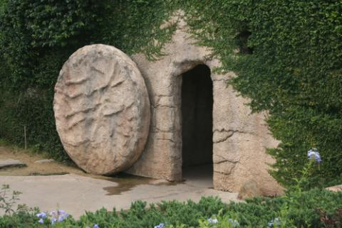 Empty tomb of Jesus, Tiffany Chan / Shutterstock.com