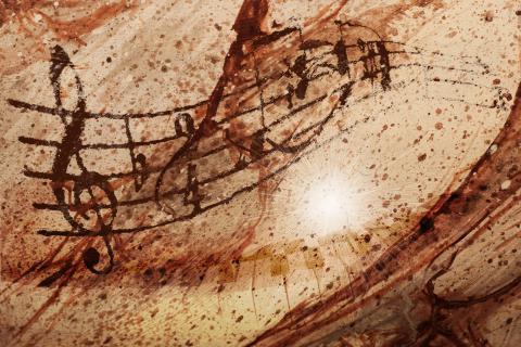 Sheet music, Franz Metelec / Shutterstock.com