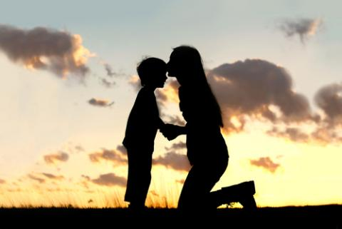 Mother and son. Image courtesy Christin Gasner/shutterstock.com.