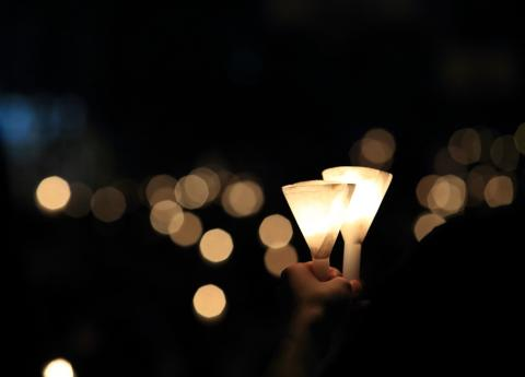 Candlelight vigil, Lewis Tse Pui Lung / Shutterstock.com
