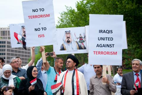 Iraqis protest ISIS in Washington, D.C., Rena Schild / Shutterstock.com
