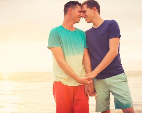 Homosexuals Holding Hands