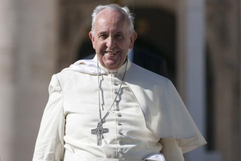 Pope Francis in October. giulio napolitano / Shutterstock.com