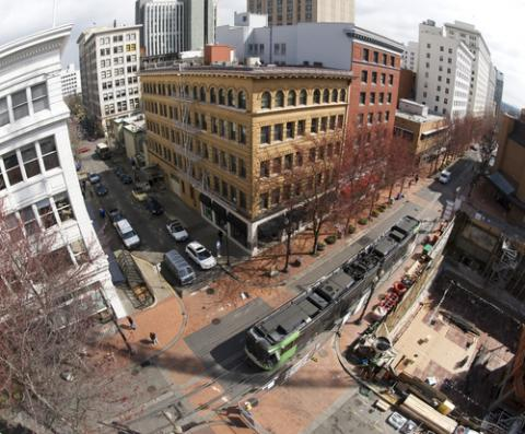 Photo: Downtown Portland, DRGill / Shutterstock.com