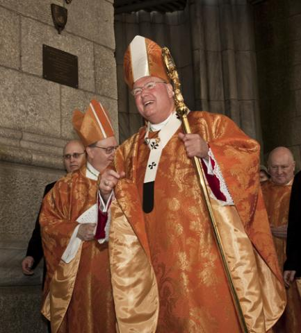 Photo: Cardinal Timothy Dolan: lev radin / Shutterstock.com