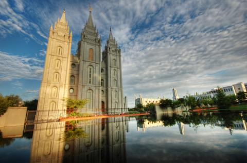 LDS Temple, Salt Lake City. Photo by Joe Y Jiang/Shutterstock.com