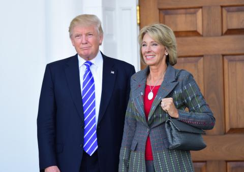 OR  lawmakers speak out against Trump education pick