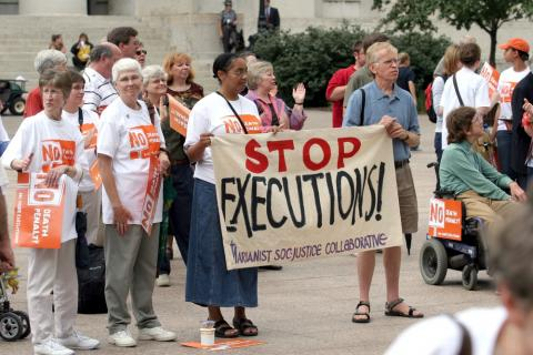 Protesters at a Anti-Death Penalty Rally, Robert J. Daveant / Shutterstock.com