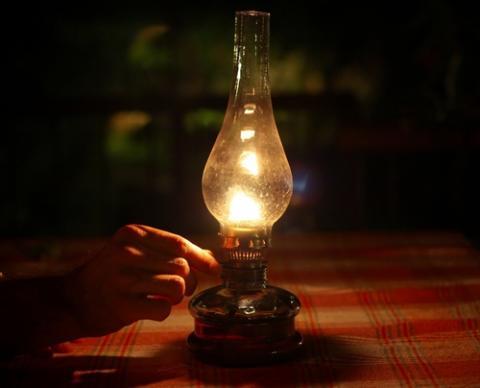 Oil lamp, KJBevan /Shutterstock.com