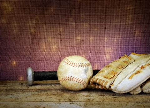 Baseball and mitt photo, Paul Orr / Shutterstock.com