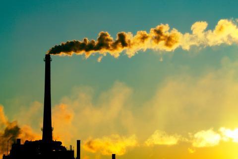 Steam rising from a factory, Todd Klassy / Shutterstock.com