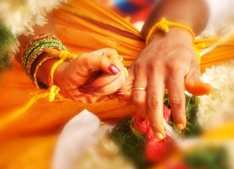 Hindu Marriage, jaimaa/Shutterstock.com