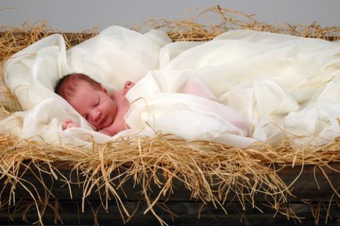 Photo: Depiction of a baby Jesus, © R. Gino Santa Maria / Shutterstock.com