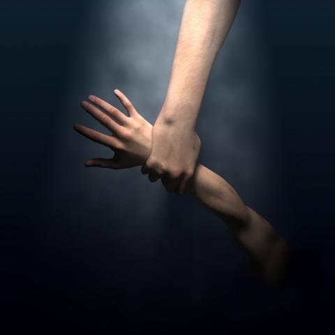 God's hand illustration, George Nazmi Bebawi / Shutterstock.com