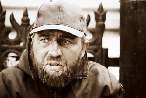 Homeless man, wrangler / Shutterstock.com