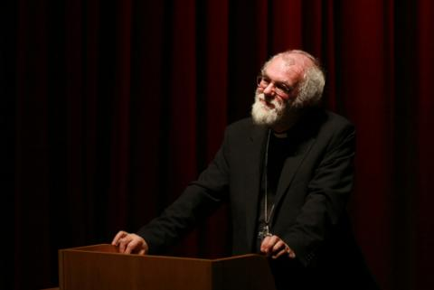 Former Archbishop Rowan Williams, Mark William Penny / Shutterstock.com