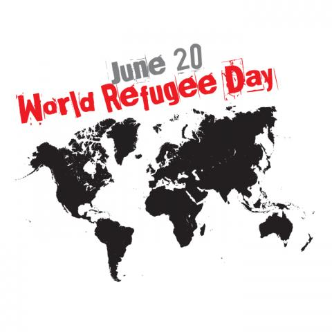 World Refugee Day illustration, ajfi / Shutterstock.com