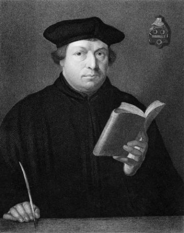 Martin Luther engraving, Georgios Kollidas / Shutterstock.com