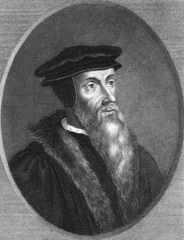 John Calvin image, Georgios Kollidas/ Shutterstock.com
