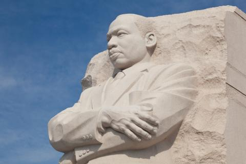 Martin Luther King, Jr. statue in Washington, D.C. Steve Heap/Shutterstock.com