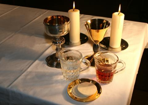 Eucharist,  Laurence Gough/ Shutterstock.com
