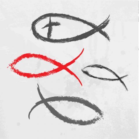 Icthus illustration,  file404 / Shutterstock.com