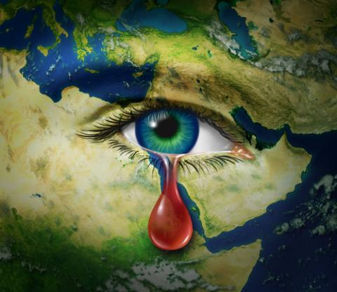 Violence in Syria illustration, Lightspring / Shutterstock.com