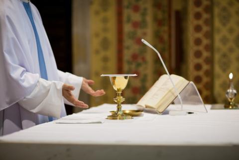 Priest image,  l i g h t p o e t / Shutterstock.com
