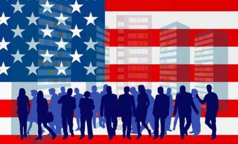 American Dream illustration, carlosgardel / Shutterstock.com