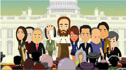 Tea Party Jesus from AVN