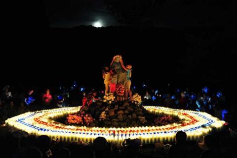 Alabama Virgin Mary shrine photo courtesy of Caritas of Alabama via RNS.