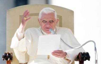 Pope Benedict in 2007. RNS photo by Gregory A. Shemitz.