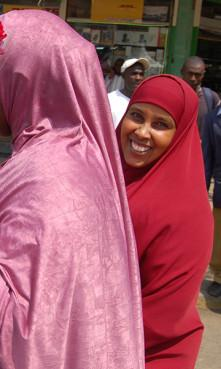 An African Muslim woman wearing a hijab. Image courtesy Fredrick Nzwili/RNS.